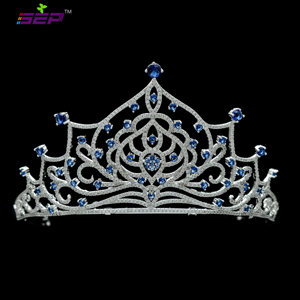 High Quality Full Cubic Zirconia CZ Bridal Wedding Tiaras Crowns Girl Women Hair Accessories Jewelry for Birthday TR15060High Quality Full Cubic Zirconia CZ Bridal Wedding Tiaras Crowns Girl Women Hair Accessories Jewelry for Birthday TR15060