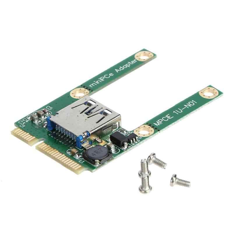 Mini pci-e para usb 3.0 adaptador cartão pci express pci-e para usb 3.0 cartão de expansão componentes do computador adicionar em cartões para computador portátil
