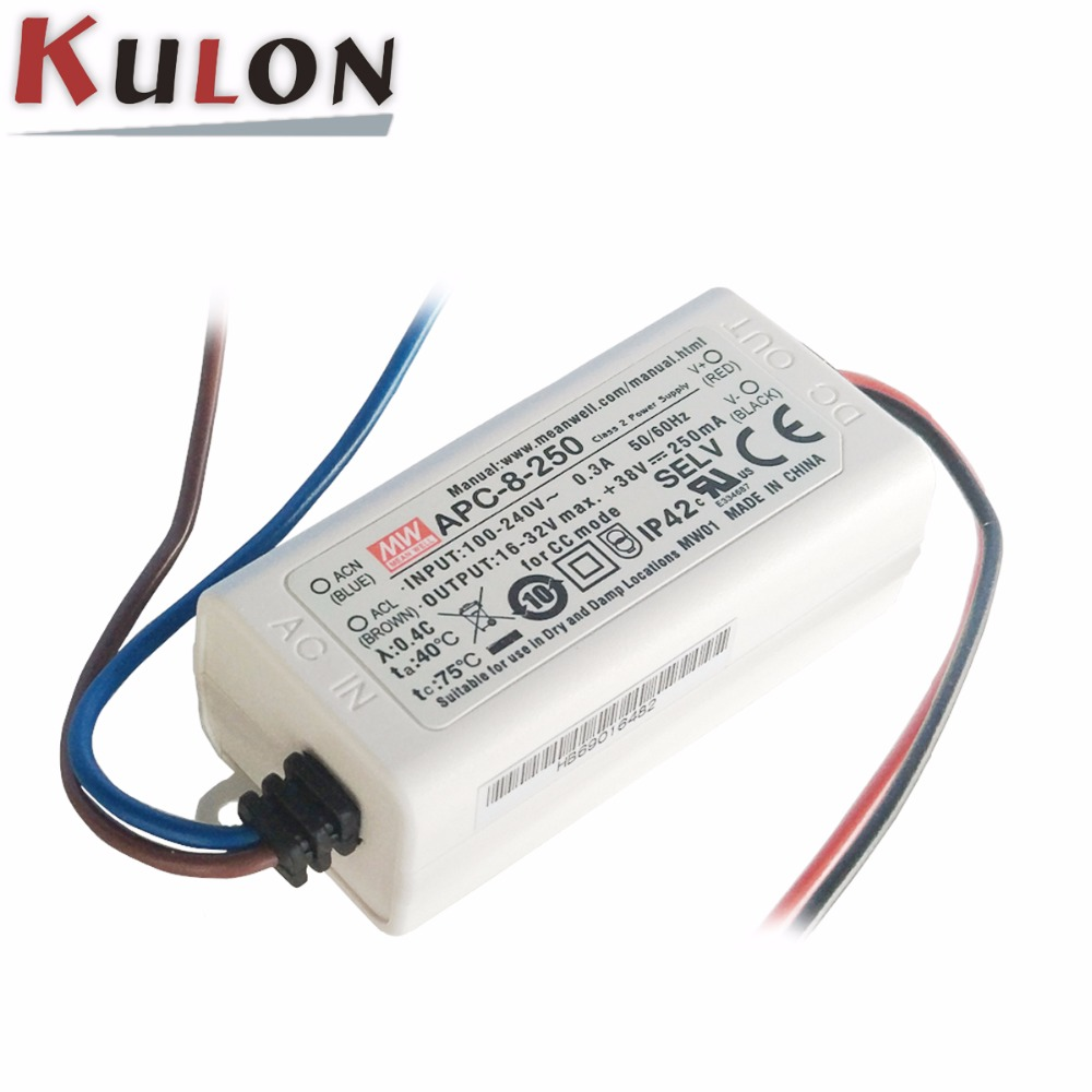Free Shipping 10pcs Lot Cyt1000a High Voltage Constant Current Led Power Driver Circuit Original Meanwell Supply 8w 250ma 350ma 500ma 700ma Apc