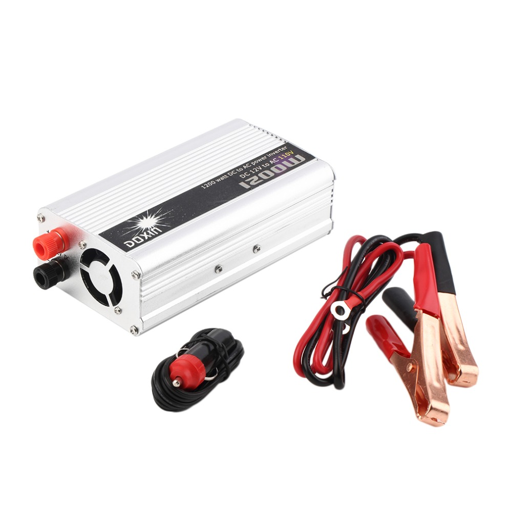 Hot Worldwide Dc 12v To Ac 110v Portable Car Power