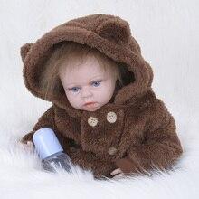 55 CM zapf Bebê Nascido Bonecas Bebe Reborn de Silicone para As Crianças Playmate Crianças Brinquedos SB5528 Bebê Bonito Roupa Da Boneca para o Bebê nascido