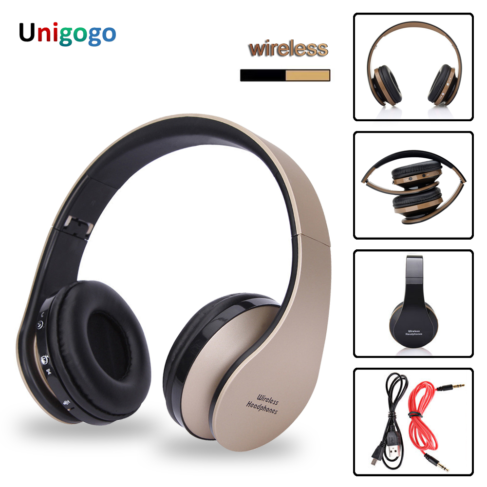 Wireless Headphones Bluetooth Headset Stereo Foldable Sport Wireless Earphones With Microphone Gaming Headset Cordless Earpiece