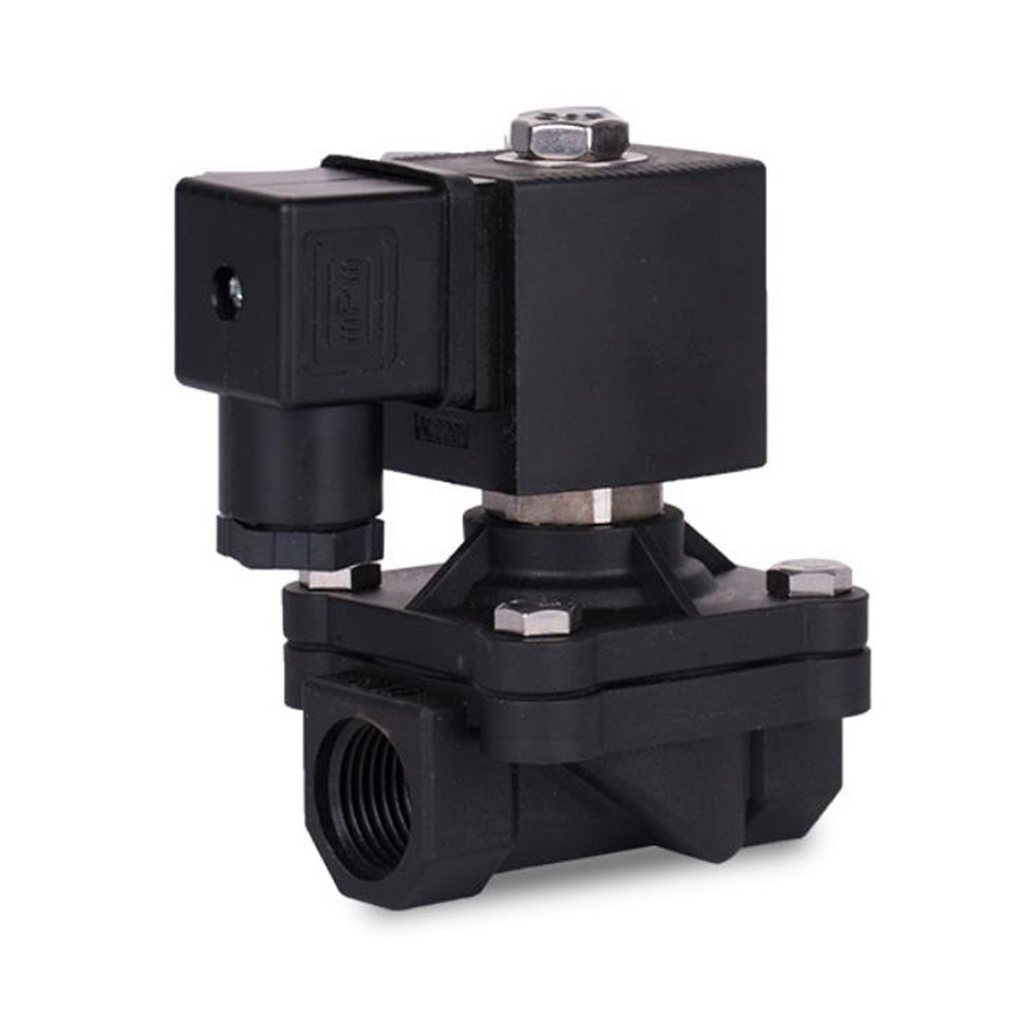DN15 plastic garden irrigation solenoid valve AC 220V DC24V switch valve AC 24V 1 2 quot electronically controlled water valves in Valve from Home Improvement