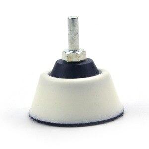 """Image 5 - 2 zoll (50mm) 20MM Weiche Schaum Zurück up Schleifen Pad + 6mm Schaft für 2 """"Schleif Scheiben für Holzbearbeitung, rotary Power Werkzeuge Zubehör"""