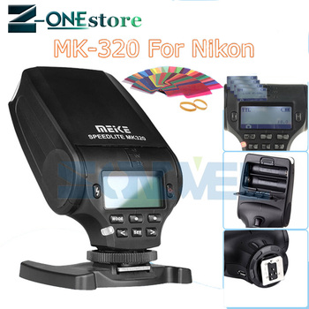 Meike MK320 MK-320 GN32 TTL Flash Speedlite for Nikon D7500 D7200 D5600 D5500 D5300 D3400 D3300 D810 D800 D750 D610 D500 D5 D4s