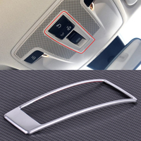 Car Styling Chrome Plated Sunroof Light Switch Decoration Trim Frame Cover Fit For Mercedes Benz GLA