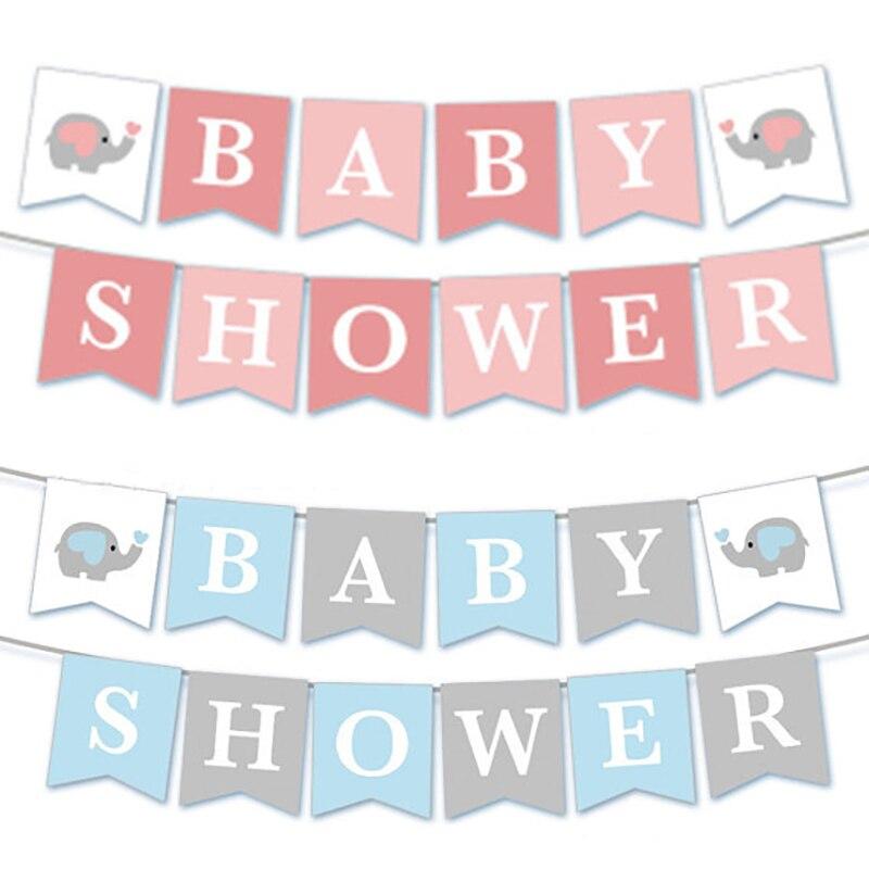 1 set Ipopu olifant Baby Shower Jongen Meisje Het een Jongen Het een Meisje Geslacht Onthullen Kids Verjaardag baby Shower feestartikelen