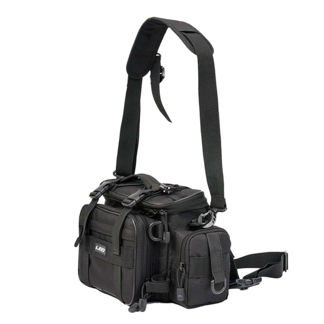 Best Offers Large Size Fishing Bag Multifunctional Waterproof Outdoor Waist Shoulder Bag Case Reel Lure Storage Bag Fishing Accessories
