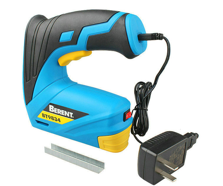 3.8V 1500 mAh lithium rechargeable wireless electric nail gun and furniture staples for frame staples and nail woodworking tools3.8V 1500 mAh lithium rechargeable wireless electric nail gun and furniture staples for frame staples and nail woodworking tools
