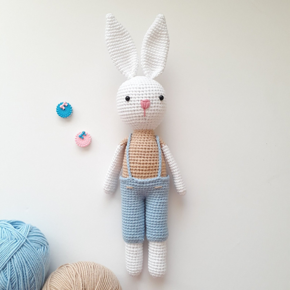 Bunny family crochet toys – free patterns | Crochet toys free ... | 1000x1000