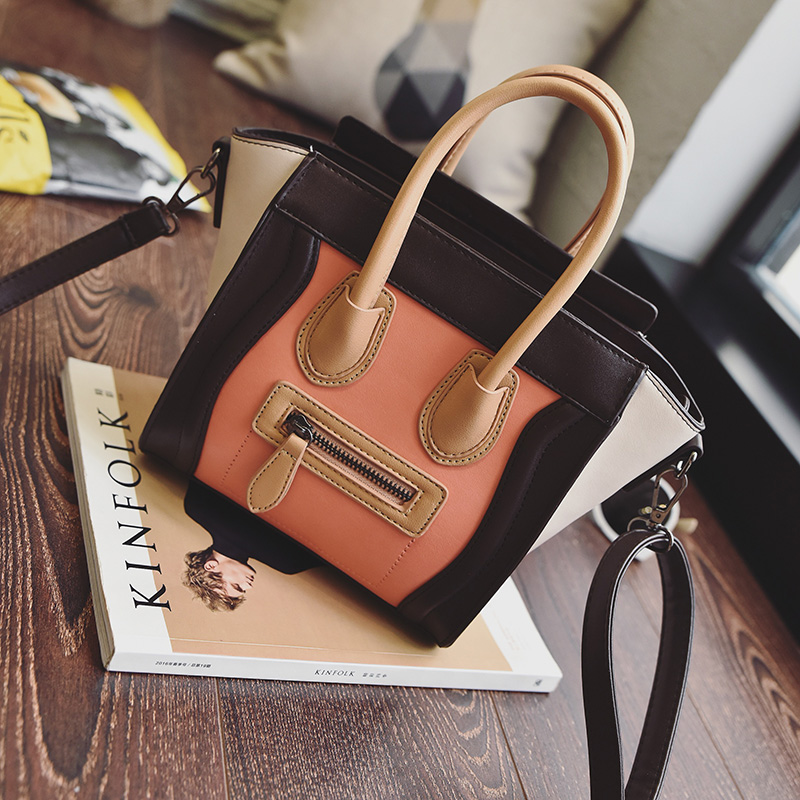 Bolsos Mujer 2016 Trapeze Smiley Tote Bag Luxury Brand Pu Leather Women  Handbag Shoulder Bag Famous Designer Crossbody Bags Sac - TakoFashion -  Women s ... f7353639d289a
