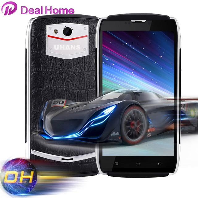 In stock UHANS U200 Android 5.1 4G FDD-LTE 64bit MTK6735 Quad Core Cellphone 13.0MP Smart Wake Smartphone