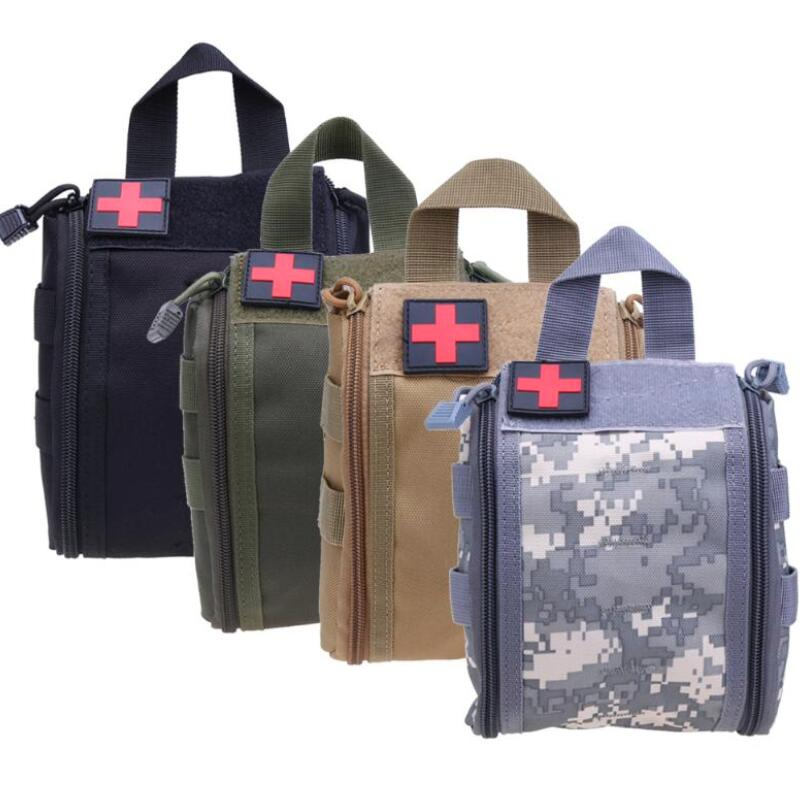 Tactical Molle Survival First Aid Kit Bag Game Outdoor Survival Gear Camping Hiking Medical Bag Emergency Survival Storage Case kinepin soft cosmetic puff versatile gourd makeup sponge make up foundation sponge blender face powder puff sponge cosmetic tool