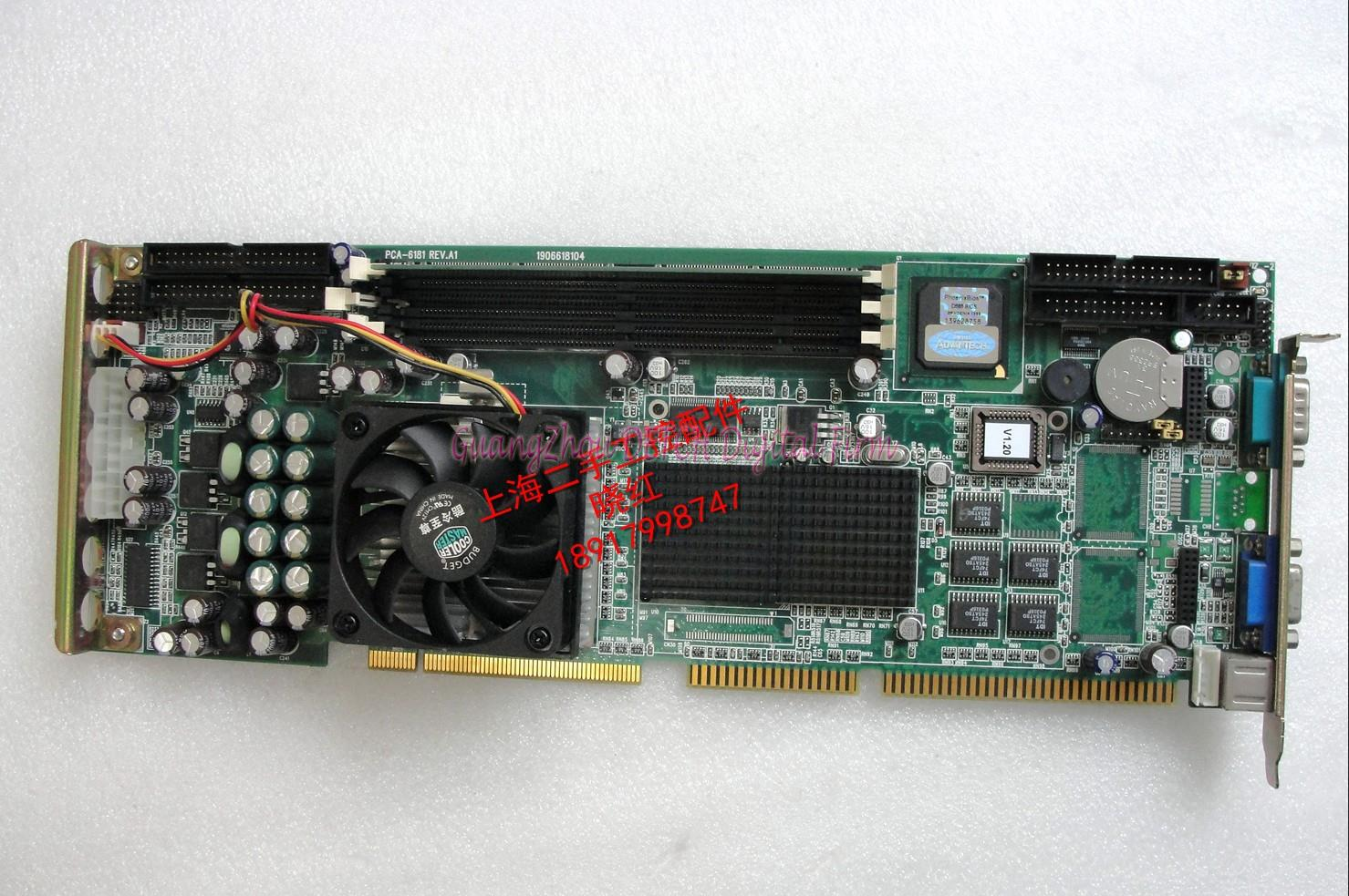 PCA 6181 REV.A1 industrial motherboard test well to the CPU