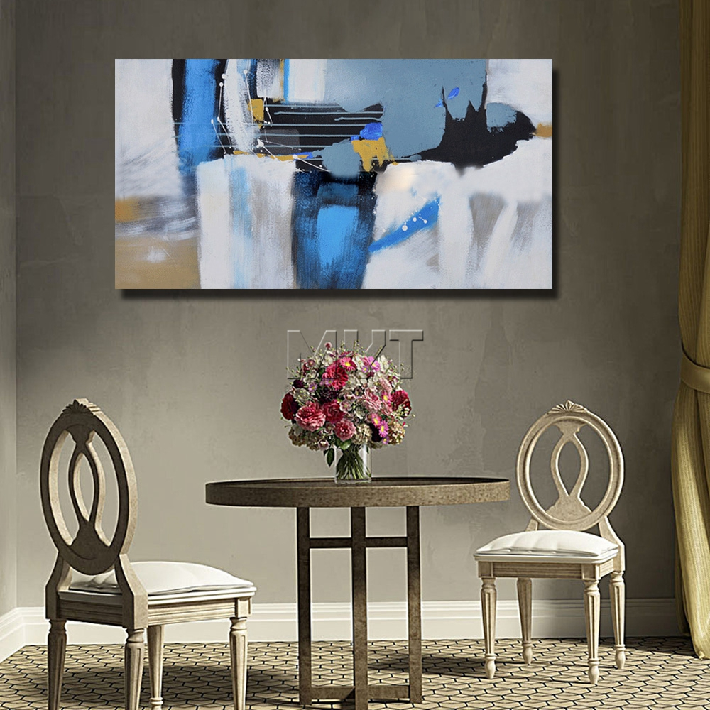 Paintings for Room Decor Abstract Oil Painting on Canvas Handpainted - Home Decor - Photo 5