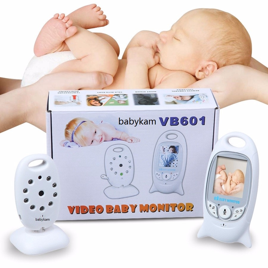 Babykam baby camera radio nanny 2.0 inch LCD IR Night vision Lullabies Temperature monitor baby intercom video babysitter fetal babykam baby phone video baby monitor 2 4 inch lcd ir night vision intercom lullaby temperature monitor baby phone camera nanny