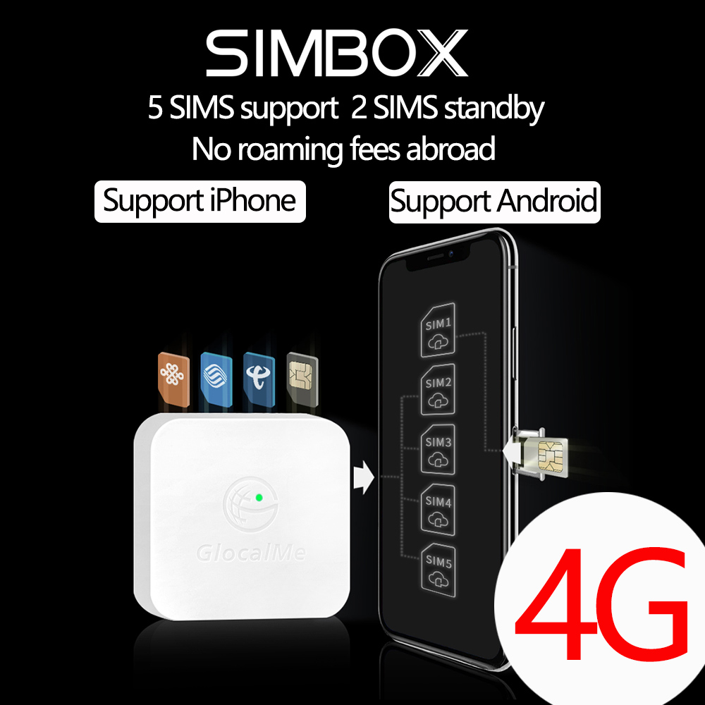4G SIMBOX 5SIM 3Standby Box 3SIM Activate Online at the same time SIM ADD for i