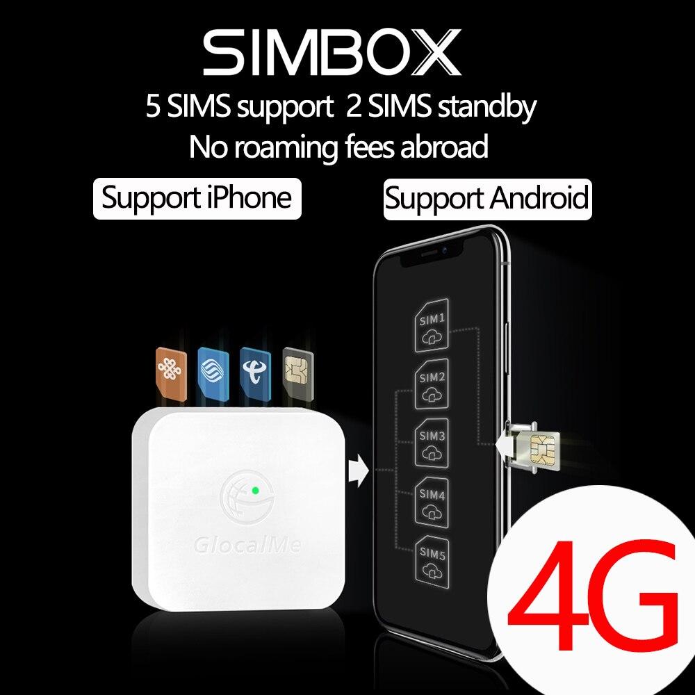 4g SIMBOX 5SIM 3 Standby Scatola 3SIM Attivare in Linea allo stesso tempo SIM AGGIUNGERE per il telefono 6 /7/8/X/XS MAX e Android SIM a casa