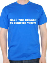 Cool T Shirt Designs Short Sleeve Printing Machine Crew Neck Engineer Have You Hugged An Science T Shirts For Men