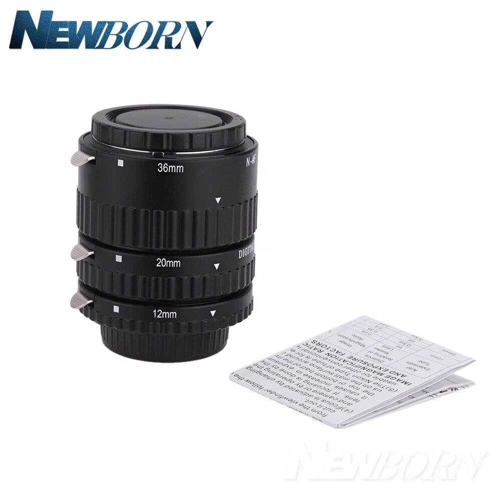 Meike Autofocus D'extension Macro Tube Anneau pour Nikon D7500 D7200 D5600 D5500 D5300 D3400 D3300 D850 D810a D750 D5 D4 Caméra - 3