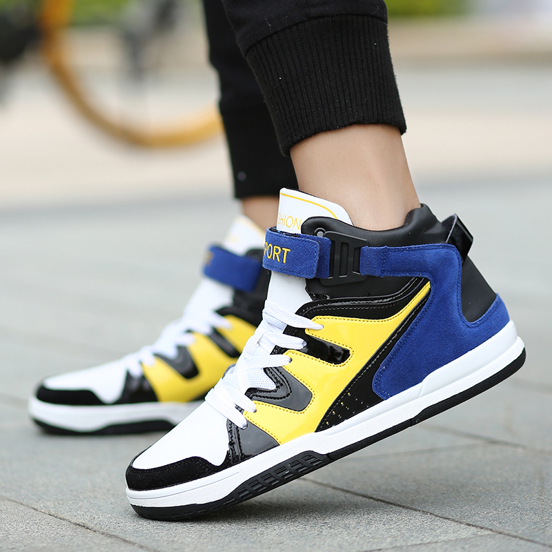 Jeunesse Sneakers Adulto Haute Sport Hommes Tenis De Top rouge Marque Confortable Chaussures Casual Mâle Bleu Masculino Mode Krasovki Adulte Hqa7a0