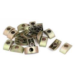 Соединитель для мебели половинные лунные гайки шайба бронзовый тон 20 шт