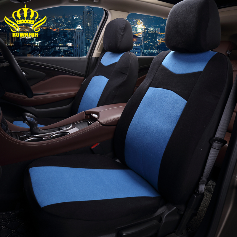 rownfur universal car seat cover fit most cars car styling car seat protector for kia ceed lada. Black Bedroom Furniture Sets. Home Design Ideas