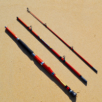 3 Sections Carbon Boat Rod 1 8m 2 1m Super Hard Strong Action Sea Fishing Rod