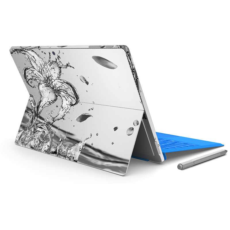 Хороший дизайн для микро поверхности Pro4 кожи Стикеры для Surface pro 5 назад большая наклейка Tablet notebook винил Стикеры-0692