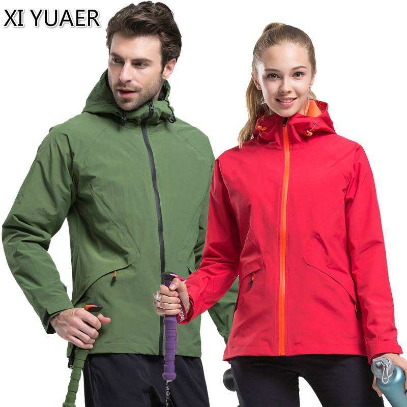 все цены на New Men women Quick Dry Softshell Waterproof Jackets Outdoor Sports fishing Camping Trekking Climbing Couples Coat clothes 50006 онлайн