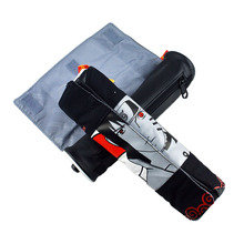 Hot-selling Anime Japanese Naruto theme pen bags double faced personality man scroll stationery bag