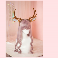2017 hair accessories Elk horn headband Christmas hairdress Cos accessories hairpiece Free Shipping