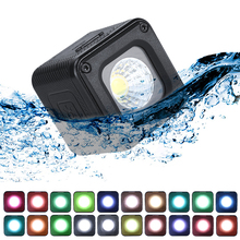 Ulanzi L1 Pro Versatile Mini Video LED Light Waterproof Lighting for DSLR Canon Sony A6400 Dji Osmo Action Pocket Gopro 7/6/5