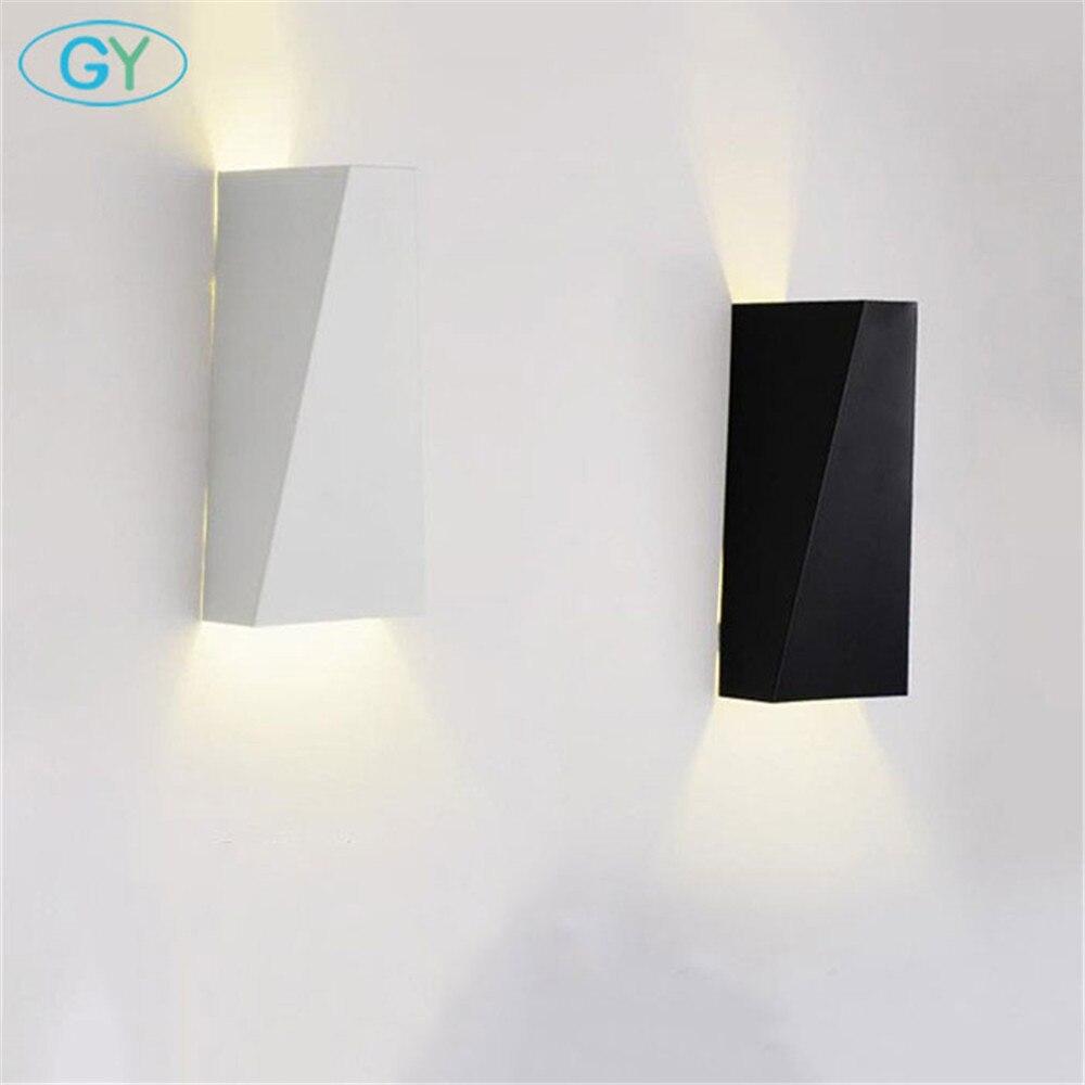 3 lumières lumière murale moderne lumière murale forme de la feuille