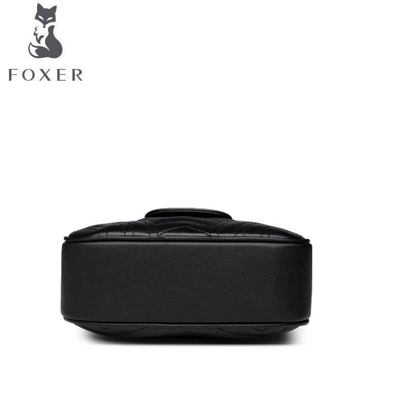 Foxer Bandoulière Cuir Sac Sacs Designer À De Pour 2019 Petit Femmes En Main Luxe Nouvelles rqrSFZ
