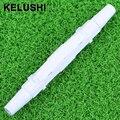KELUSHI Падение волоконно-Оптический кабель Защиты коробки маленькие круглые трубы термоусадочные трубки для защиты волокна сращивания лоток 100 шт.