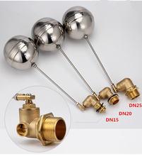 Плавающий клапан dn15 dn20 dn25 бак с жидким уровнем металлический