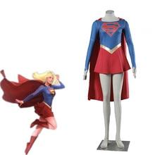 Athemis film supergirl Cosplay Costume sur mesure robe de cape de haute qualité