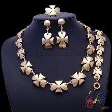 Wholesale fine jewelry Brazilian gold jewelry set Speciality gifts