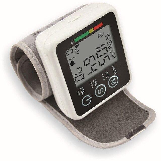 Здравоохранение Германия Чип Автоматические Наручные Электронные Монитора Артериального Давления Тонометр Метр для Измерения И Частоты Пульса