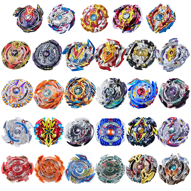 цена 14/29pcs Beyblade Burst Metal Fusion 4D Bey Blade Set No Starter No Box Spinning Top Christmas Gift Toys For Children #E