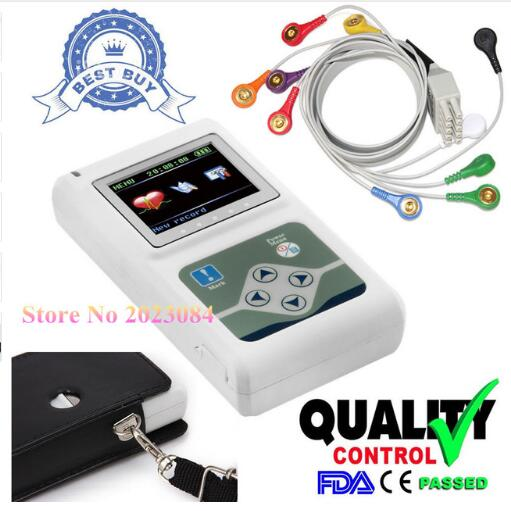 Free Ship CONTEC FDA&CE TLC5000 Holter Machine Sync Software Analyze SysteM analyze