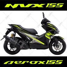 Autocollant de corps de traction de fleur de voiture entière de moto pour Yamaha NVX AEROX 155