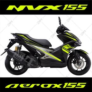 Image 1 - Motocykl samochód cały samochód kwiat ciągnięcie naklejki ciała dla Yamaha NVX AEROX 155