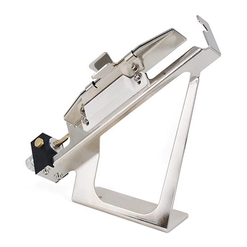 Réglable en acier Fletching flèche plume Fletching bricolage Jig Stick robuste en alliage d'aluminium bricolage Fun Stick plume Kit