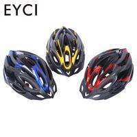 Ultraleve ciclismo capacete ajustável à prova de choque da bicicleta mountain road capacete com viseira para aldults crianças
