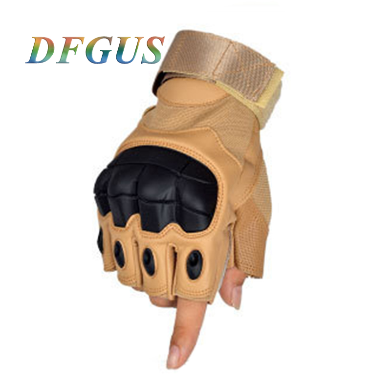 Men Special Forces Tactical Gloves Soft Shell Military Non-slip Outdoor Half Guantes Gym Combat Fitness Gloves
