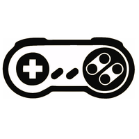 Car styling Cool Classic Game Controller Vinyl Decal Sticker Cool Graphic Auto Window Car Rear Windshield Truck Bumper Jdm