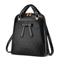 Ladies backpack shoulder bag Korean version of the influx of women bag school PU leather backpack 2