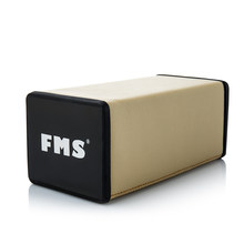 FMS Soft Car Armrest Pads Console Cushion for Relaxation Leather Memory Foam Universal Auto Versatile Seat Armrest Car Styling(China)